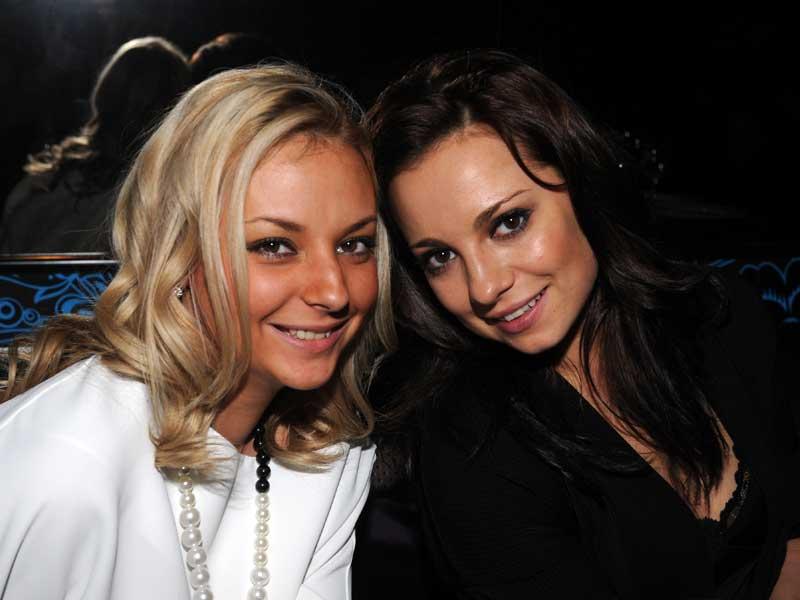 Дарья Сагалова и Светлана Светикова