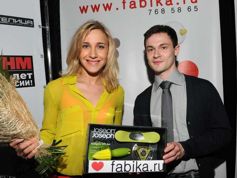 Юлия Ковальчук и Денис Лизунов (Компания fabika.ru)